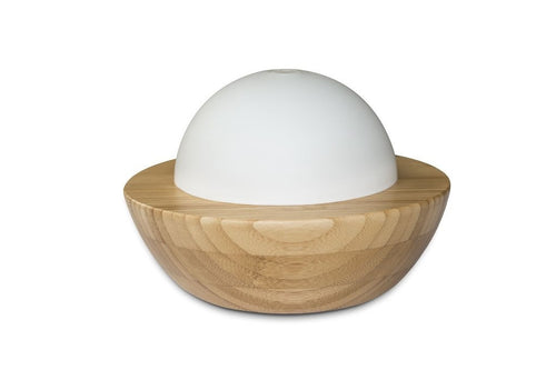 Tilley Aroma Natural Ultrasonic Diffuser - Bamboo & Glass - ZoeKitchen
