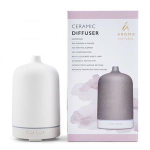 Tilley Aroma Natural - Ceramic Diffuser - Smooth White - ZOES Kitchen