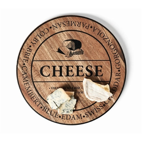 Salt&Pepper Fromage Round Wooden Cheese Board 40cm - ZoeKitchen