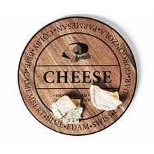 Load image into Gallery viewer, Salt&Pepper Fromage Round Wooden Cheese Board 40cm - ZoeKitchen