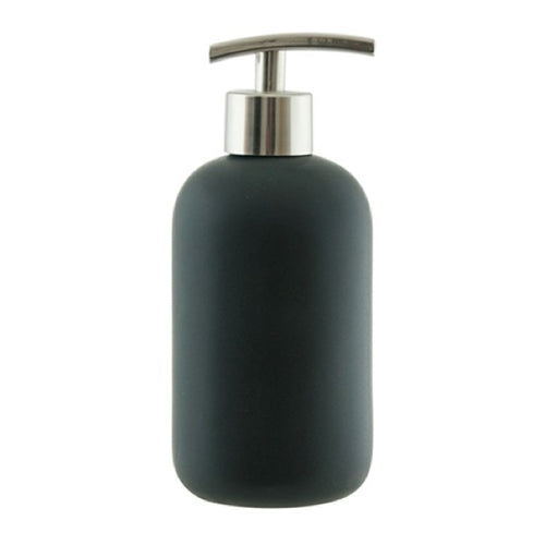 s&p suds ceramic soap dispenser 425ml black - ZoeKitchen