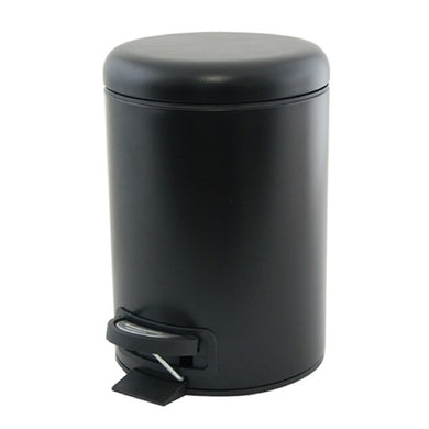 Salt&Pepper Suds Pedal Push Bin 3l Black - ZOES Kitchen