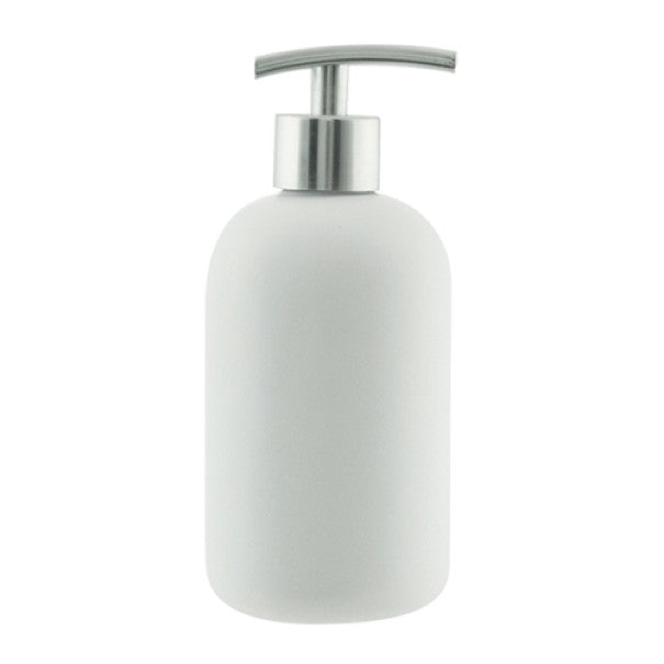 Salt&Pepper Suds Ceramic Soap Dispenser 425ml White - ZoeKitchen