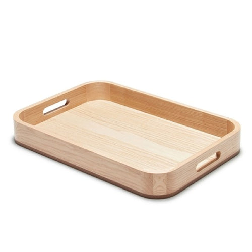 Salt&Pepper Butler Serving Tray Light Wood - ZOES Kitchen