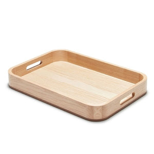 S&P BUTLER SERVING TRAY LIGHT WOOD