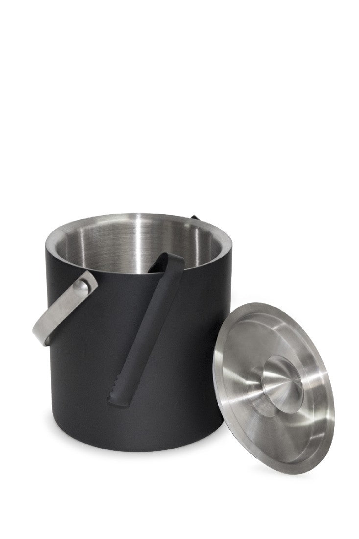 Salt&Pepper Bond Ice Bucket Dw W/ Tong - ZoeKitchen
