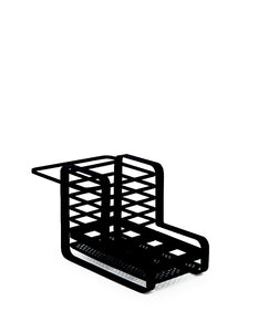 Salt&Pepper Ebony Kitchen Organiser 21x14.5cm - ZoeKitchen