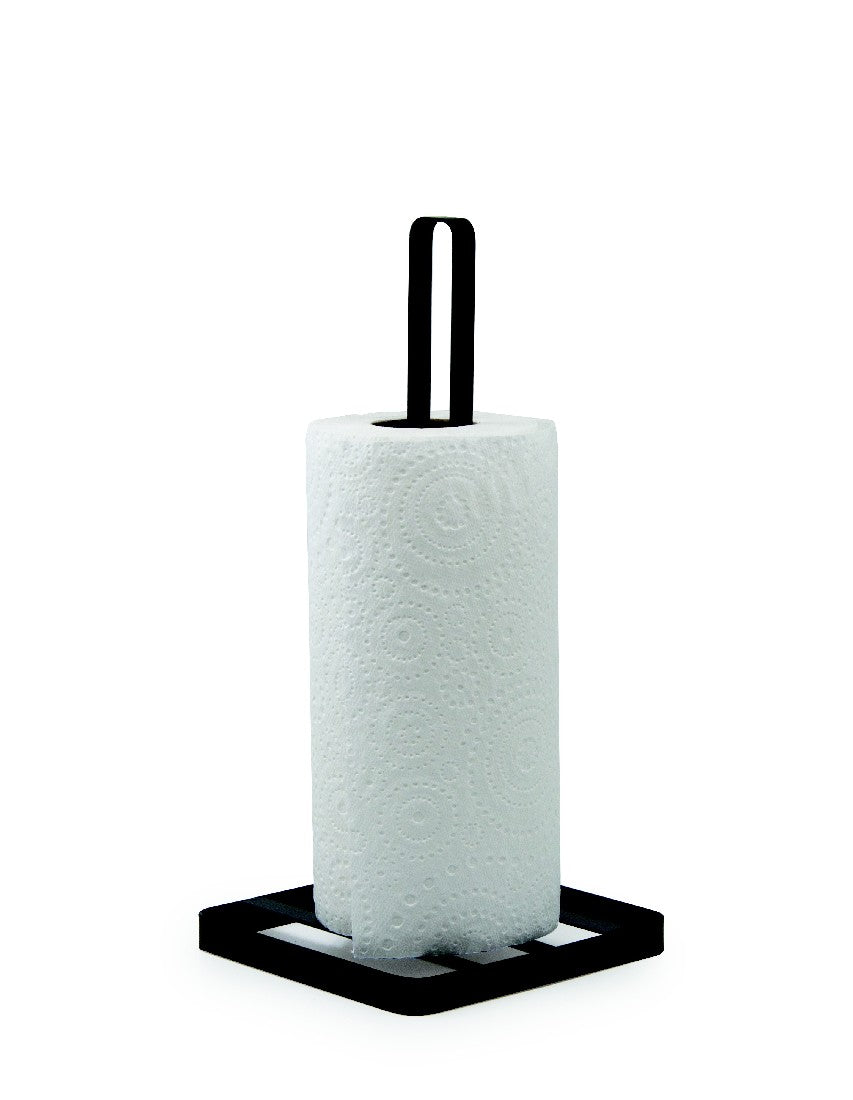 Salt&Pepper Ebony Paper Towel Holder 14.5x30.5cm - ZOES Kitchen