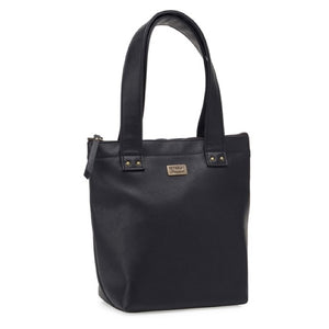s&p smash & pepper lunch tote bag insulated - black - ZoeKitchen