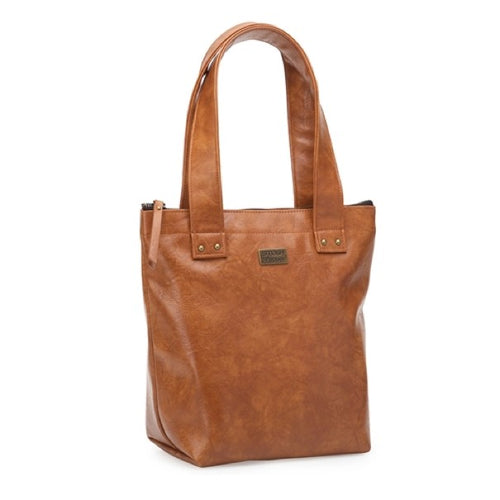 s&p smash & pepper lunch tote bag insulated - tan - ZoeKitchen