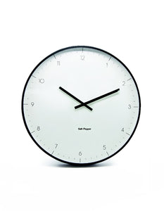 Salt&Pepper Zone Elio Clock White Metal 53.5cm - ZOES Kitchen