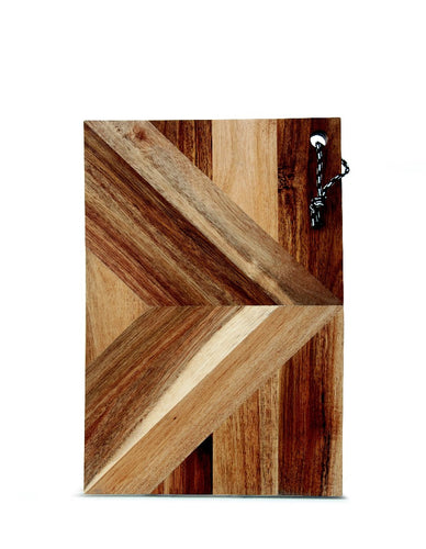 S&P RAFFIA SERVING BOARD REC 45X30CM