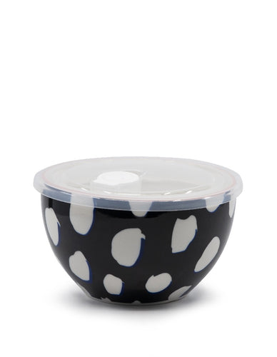 Salt&Pepper Lunch 2 Go Bowl With Lid Black - ZOES Kitchen