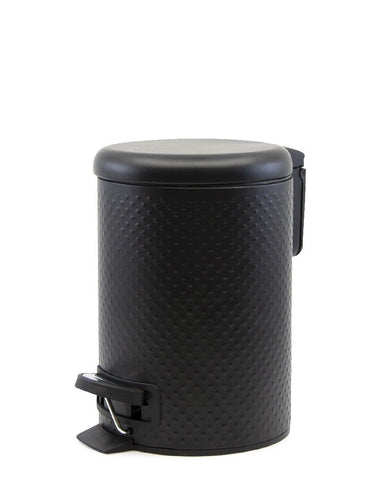 Salt&Pepper Suds Spot Pedal Bin Black 3l - ZOES Kitchen