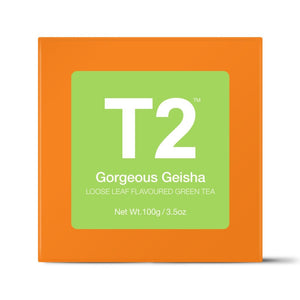 T2 Loose Tea - Gorgeous Geisha 100g O/B - ZoeKitchen