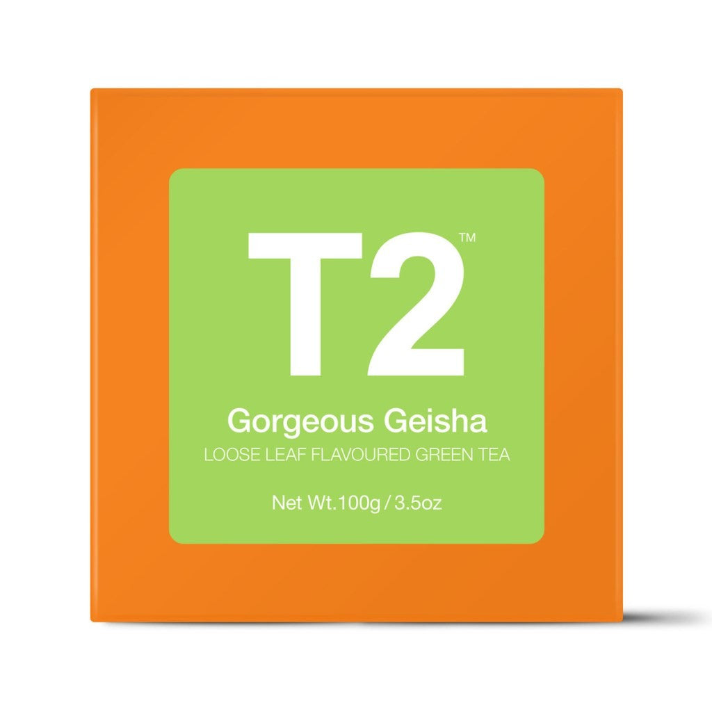 T2 Loose Tea - Gorgeous Geisha 100g O/B - ZOES Kitchen