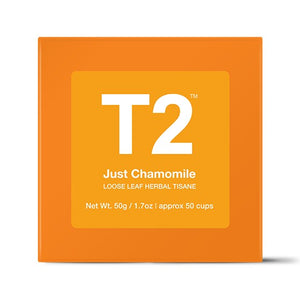 T2 Loose Tea -Just Camomile 50g O/B - ZoeKitchen
