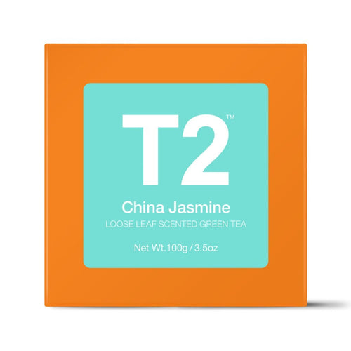 T2 Loose Tea - China Jasmine 100g O/B - ZoeKitchen