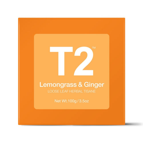 T2 Loose Tea - Lemongrass & Ginger 100g O/B - ZoeKitchen