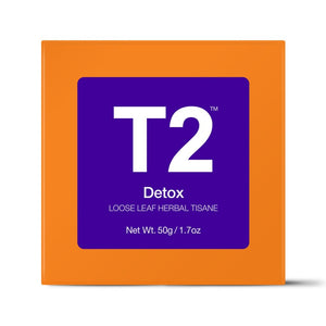 T2 Loose Tea - Detox 50g O/B - ZoeKitchen