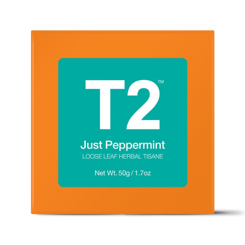 t2 loose tea - just peppermint 50g o/b - ZoeKitchen