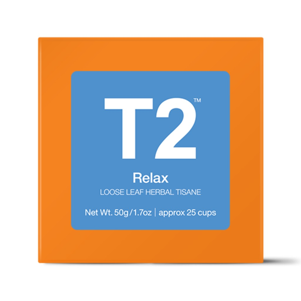 T2 Loose Tea - Relax 50g O/B - ZOES Kitchen