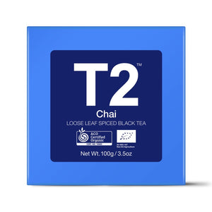 t2 loose tea - org chai 100g bb - ZoeKitchen