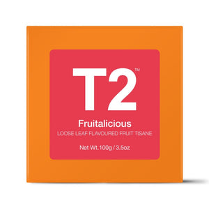T2 Loose Tea - Fruitalicious 100g O/B - ZoeKitchen