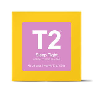 T2 Teabags - Sleep Tight Bio Tbag 25pk Y/B - ZoeKitchen