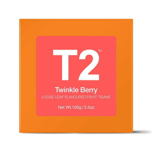 T2 Gift Cube - Twinkle Berry 100g Gift Cube - ZoeKitchen