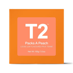 T2 Loose Tea - Packs A Peach 100g O/B - ZoeKitchen