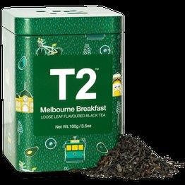 T2 LIMITED EDITION - MELBOURNE BREAKFAST 100G TIN 2019 - ZoeKitchen