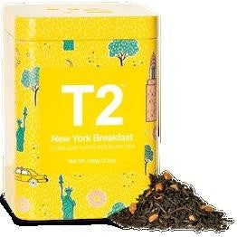 T2 LIMITED EDITION - NEW YORK 100G TIN 2019 - ZoeKitchen