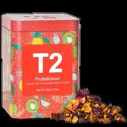 T2 LIMITED EDITION - FRUITALICIOUS 100G TIN 2019 - ZoeKitchen