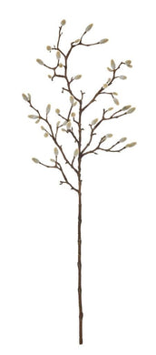 Rogue Magnolia Bud Spray 25x10x74cm Natural