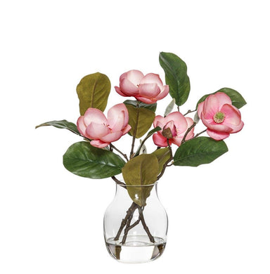 Rogue Chinese Magnolia Spray Adina Vase 34cm Pink BOM
