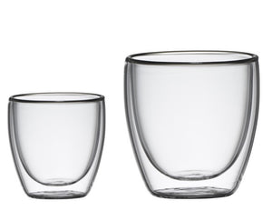 Classica Barista S6 Espresso D/Wall Glasses - ZOES Kitchen