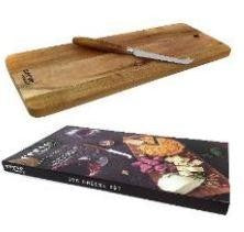 Classica Cerve 2pc Serving Board With Knife - ZoeKitchen