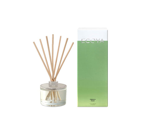 Ecoya Reed Diffuser 200ml - French Pear - ZOES Kitchen