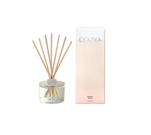 Ecoya Reed Diffuser 200ml - Vanilla Bean - ZOES Kitchen