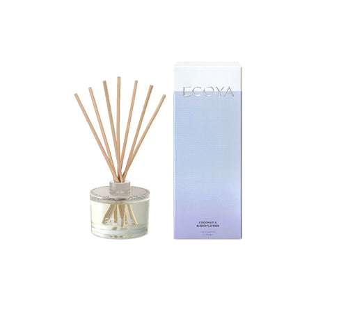 Ecoya Reed Diffuser 200ml - Coconut & Elderflower - ZOES Kitchen