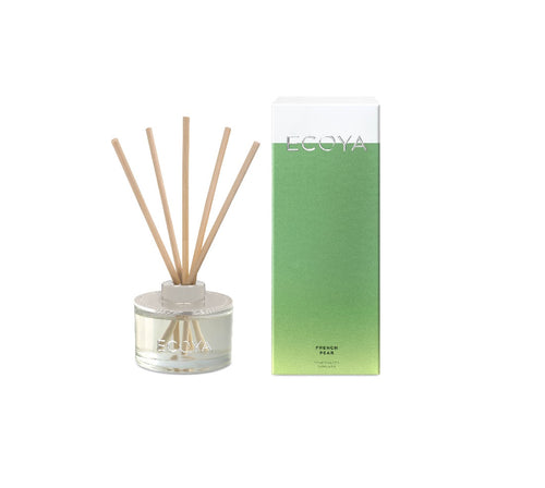 Ecoya Mini Reed Diffuser 50ml - French Pear - ZOES Kitchen