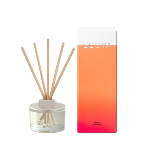 Ecoya Mini Reed Diffuser 50ml - Blood Orange - ZOES Kitchen