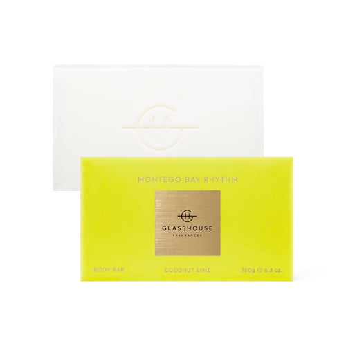 Glasshouse Fragrance - 180g Body Bar - Montego Bay Rhythm - ZoeKitchen
