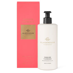 Glasshouse Fragrance - 400ml Body Lotion - Forever Florence - ZoeKitchen