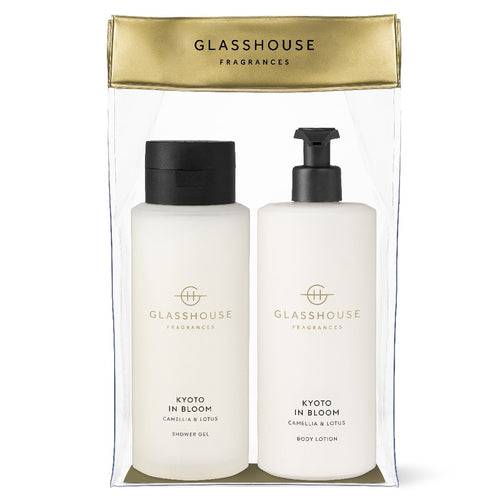Glasshouse Fragrance - 800ml Body Set - Kyoto In Bloom - ZoeKitchen