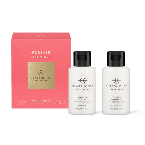 glasshouse fragrance - 2 x 50ml body duo - forever florence - ZoeKitchen