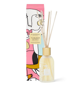 GLASSHOUSE FRAGRANCE - MOTHERS DAY - TO THE MOON AND BACK 250ML FRAGRANCE DIFFUSER - ZoeKitchen