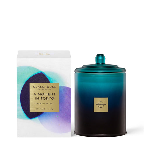 Glasshouse Fragrance - 380g Candle - A Moment In Tokyo Limited Edition