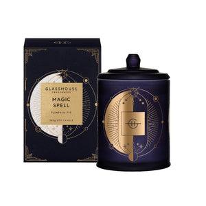 Glasshouse Fragrance - 380g Candle - Magic Spell, Pumkin Pie - Limited Edition - ZOES Kitchen